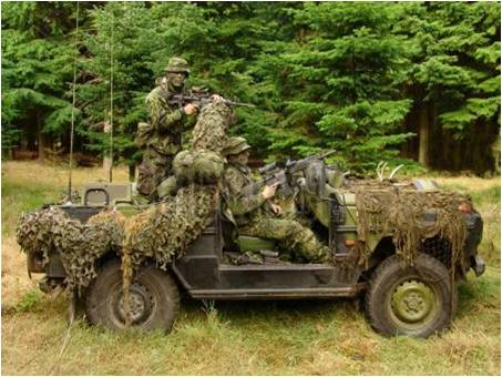 %e7%9b%ae%e6%a0%87%e4%bc%aa%e8%a3%85%e7%89%a9Example%20of%20vehicle%20with%20a%20camouflage%20net Telops红外热像仪在国防及安保应用
